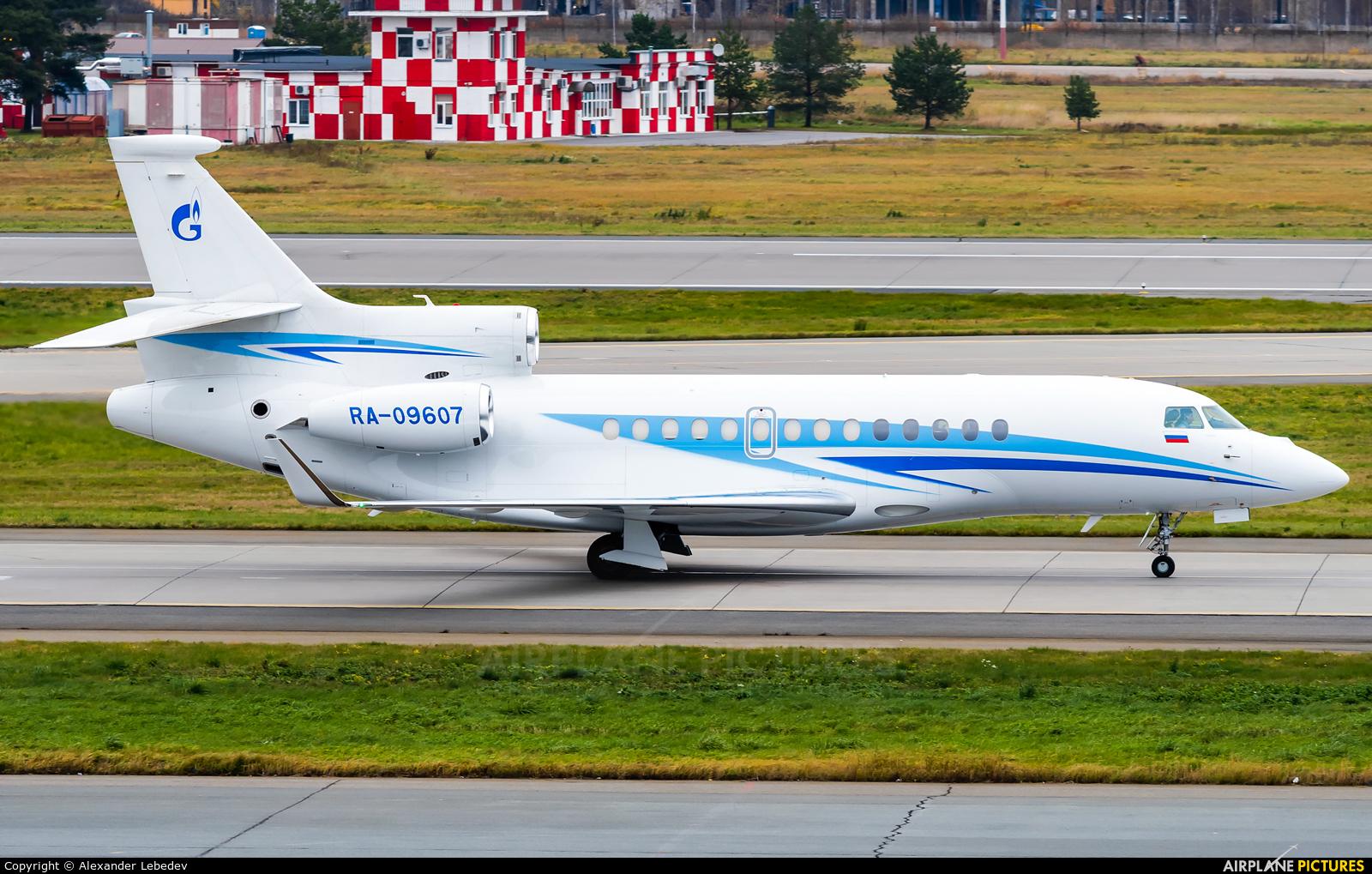 Gazpromavia RA-09607 aircraft at St. Petersburg - Pulkovo