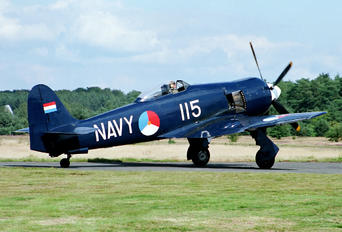 G-BTTA - Private Hawker Sea Fury