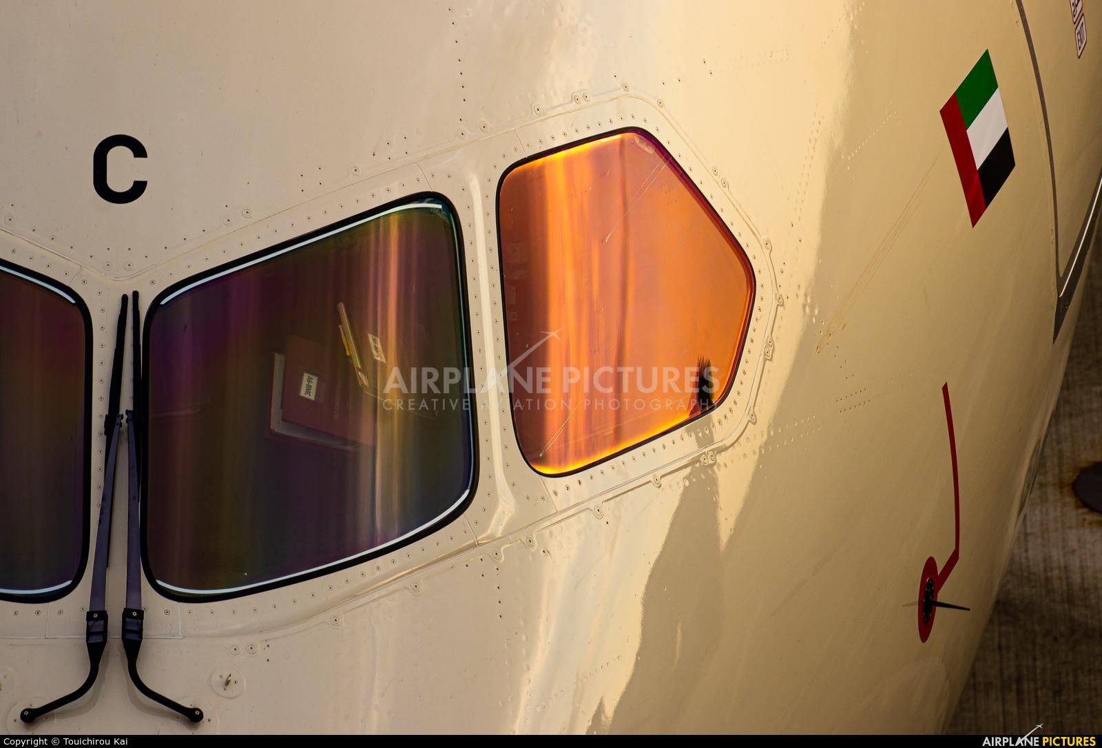 Etihad Airways A6-BMC aircraft at Chubu Centrair Intl