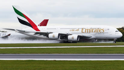 A6-EUQ - Emirates Airlines Airbus A380