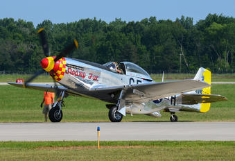 NL5420V - Private North American P-51D Mustang