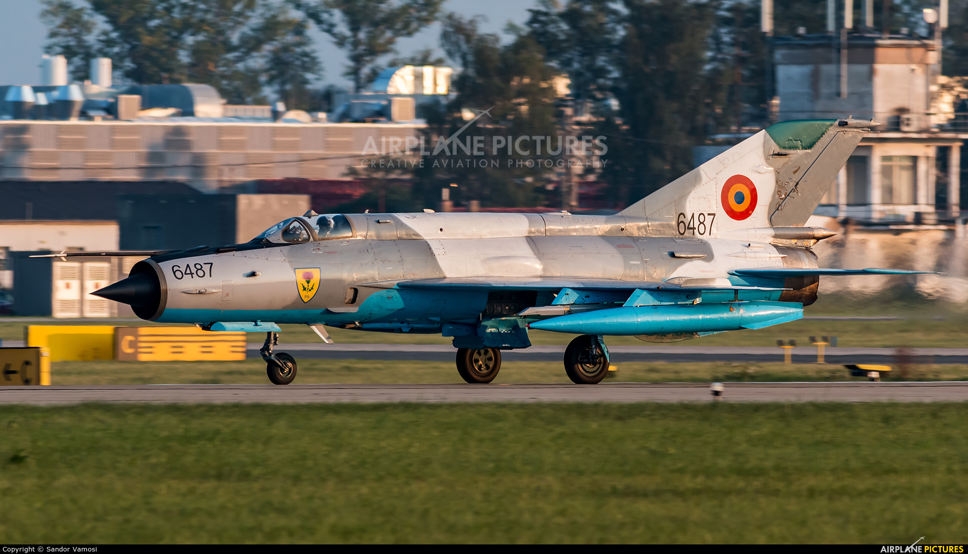 Romania - Air Force 6487 aircraft at Ostrava Mošnov