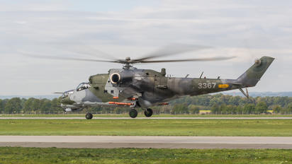 3367 - Czech - Air Force Mil Mi-24V