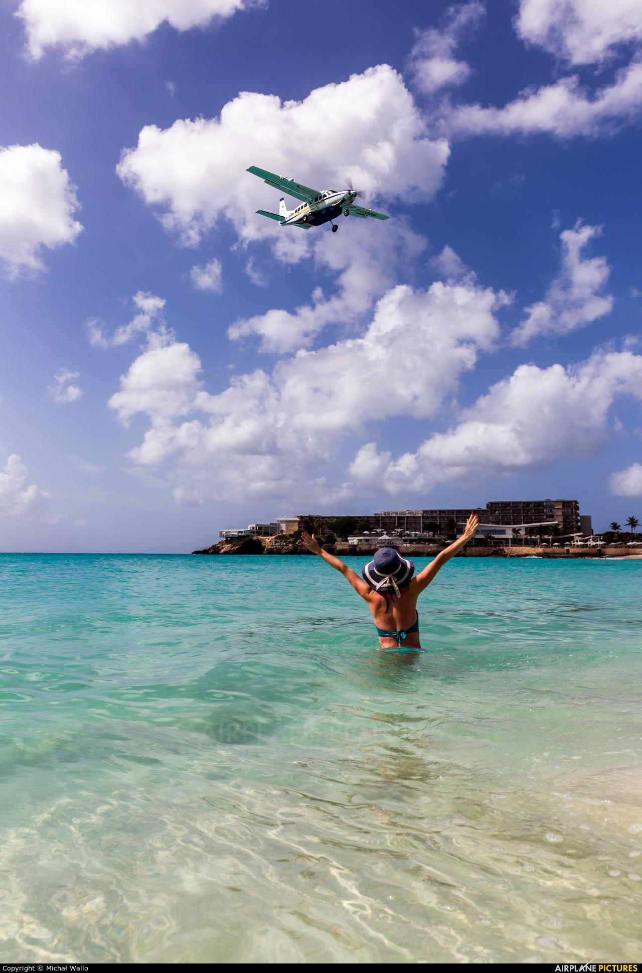 St.Barth Commuter F-OSBM aircraft at Sint Maarten - Princess Juliana Intl