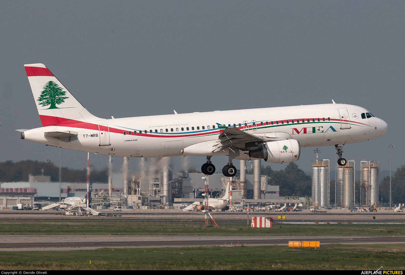 MEA - Middle East Airlines T7-MRB aircraft at Milan - Malpensa
