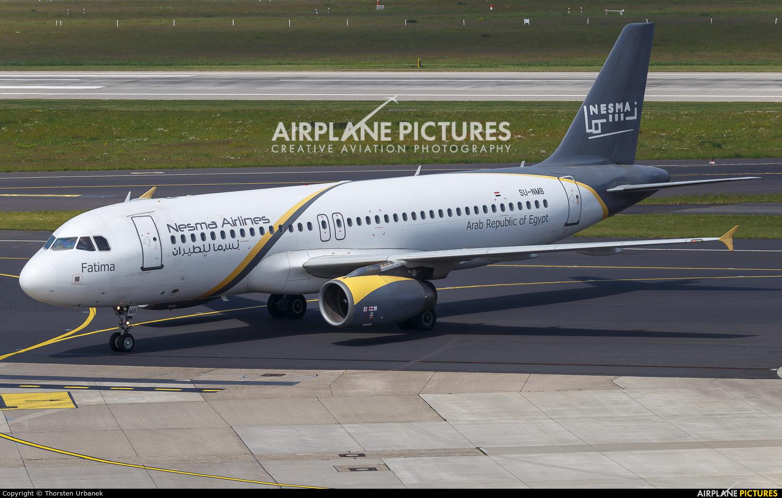 Nesma Airlines SU-NMB aircraft at Düsseldorf