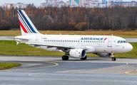 F-GRXK - Air France Airbus A319 aircraft
