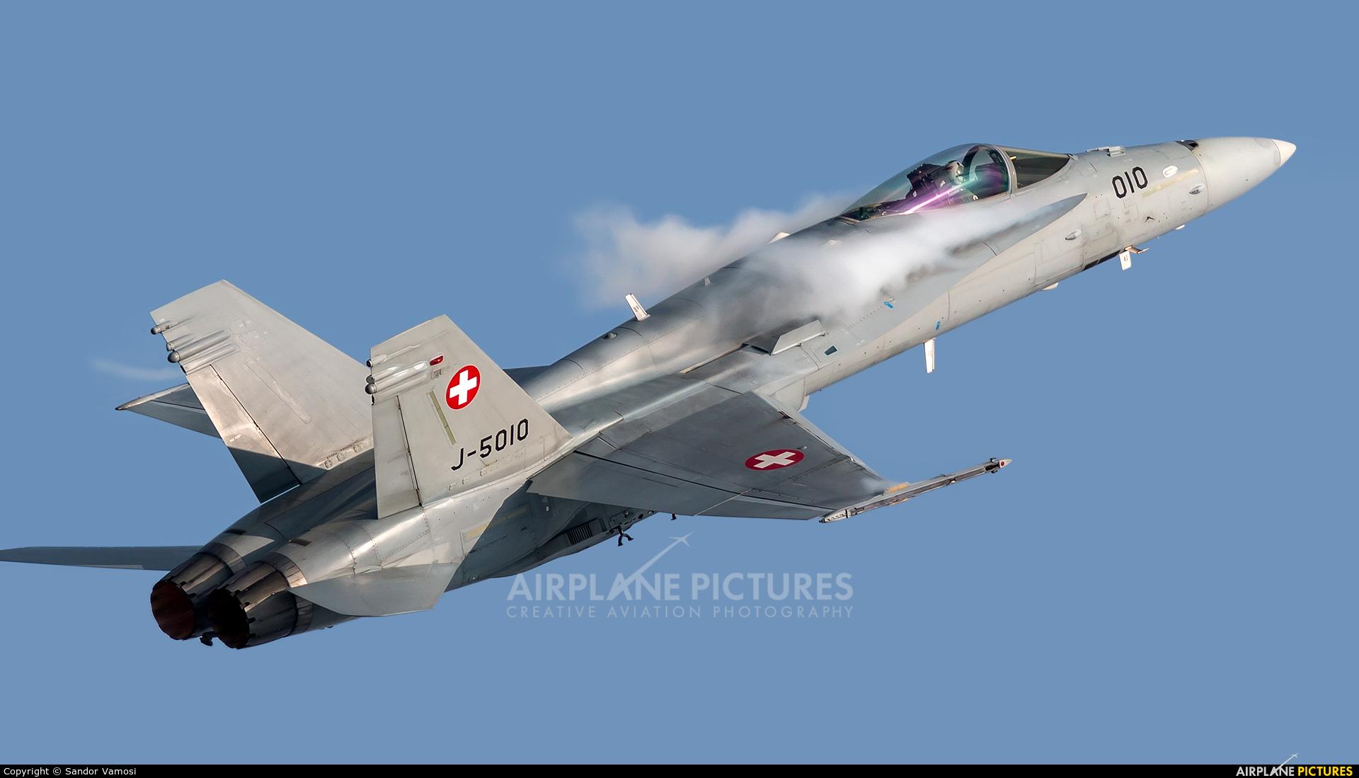 Switzerland - Air Force J-5010 aircraft at Ostrava Mošnov