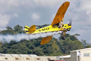 G-BPCF - O'Brien's Flying Circus. Piper J3 Cub