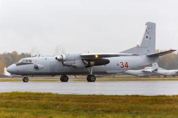 34 RED - Russia - Air Force Antonov An-26 (all models)