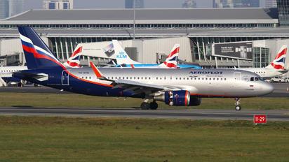 VQ-BTW - Aeroflot Airbus A320