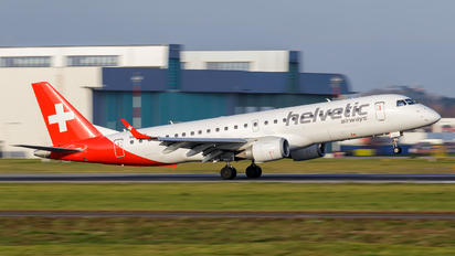 HB-JVV - Helvetic Airways Embraer ERJ-190 (190-100)