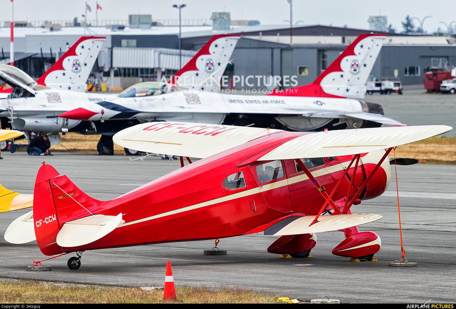 Private CF-CCW aircraft at Abbotsford, BC