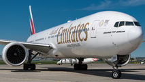 A6-EBV - Emirates Airlines Boeing 777-300ER aircraft