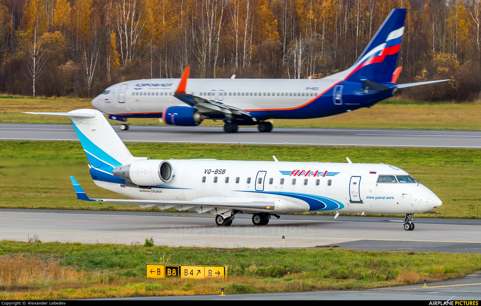 Yamal Airlines VQ-BSB aircraft at St. Petersburg - Pulkovo