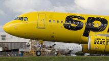 N650NK - Spirit Airlines Airbus A320 aircraft