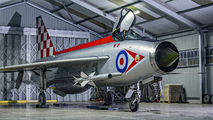 XR713 - Royal Air Force English Electric Lightning F.3 aircraft