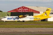 G-COBO - Aurigny Air Services ATR 72 (all models) aircraft