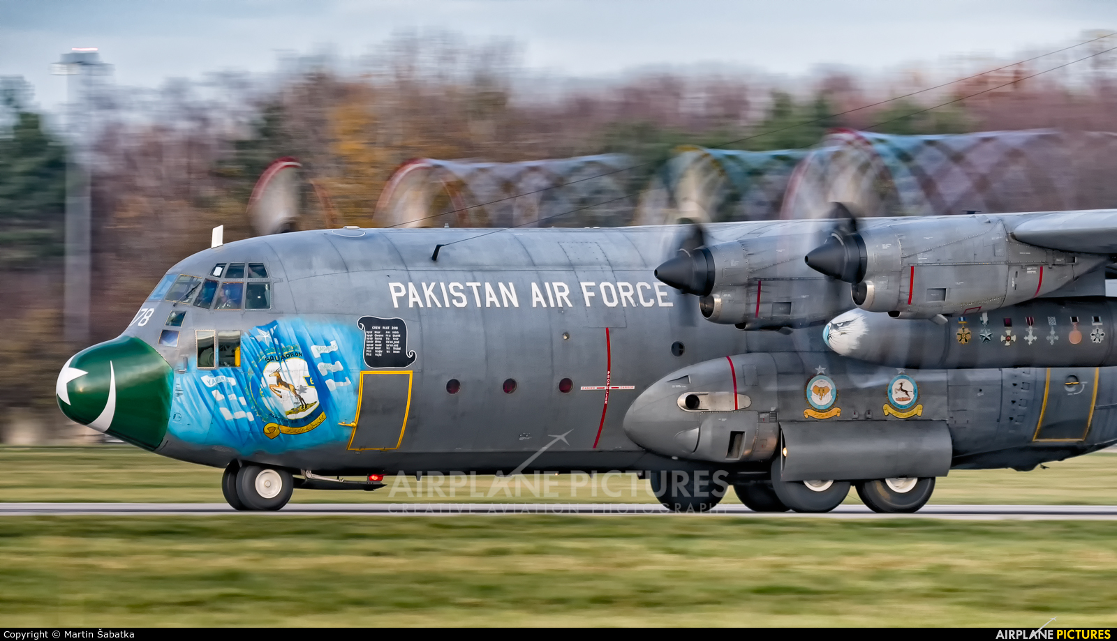 Pakistan - Air Force 178 aircraft at Pardubice
