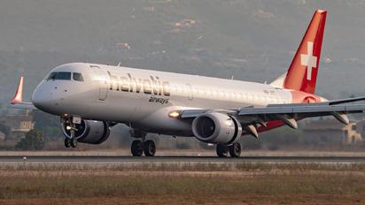 HB-JVT - Helvetic Airways Embraer ERJ-190 (190-100)