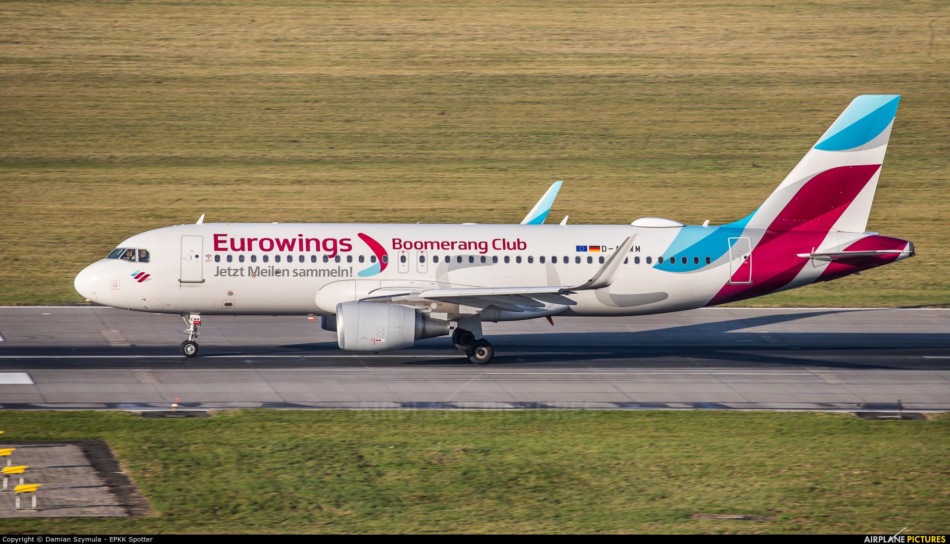 Eurowings D-AEWM aircraft at Kraków - John Paul II Intl