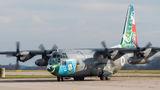 Pakistan Air Force Lockheed C-130 visited Pardubice