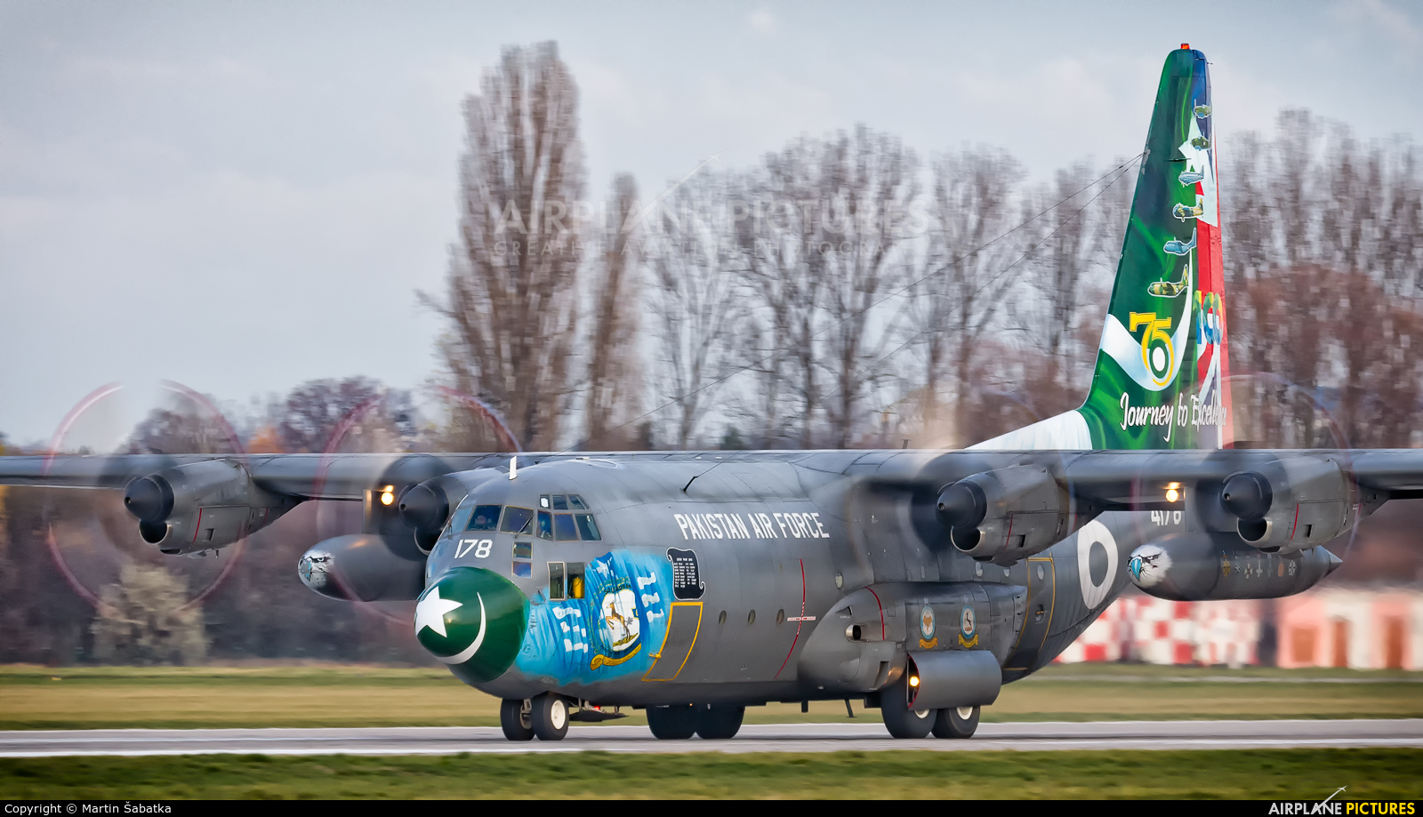 Pakistan - Air Force 4178 aircraft at Pardubice