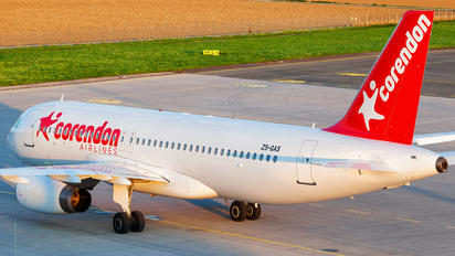 ZS-GAS - Corendon Airlines Airbus A320