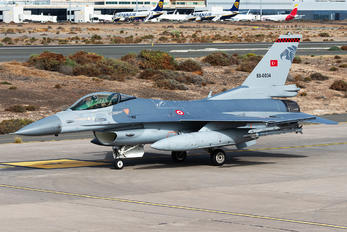 88-0034 - Turkey - Air Force General Dynamics F-16C Fighting Falcon