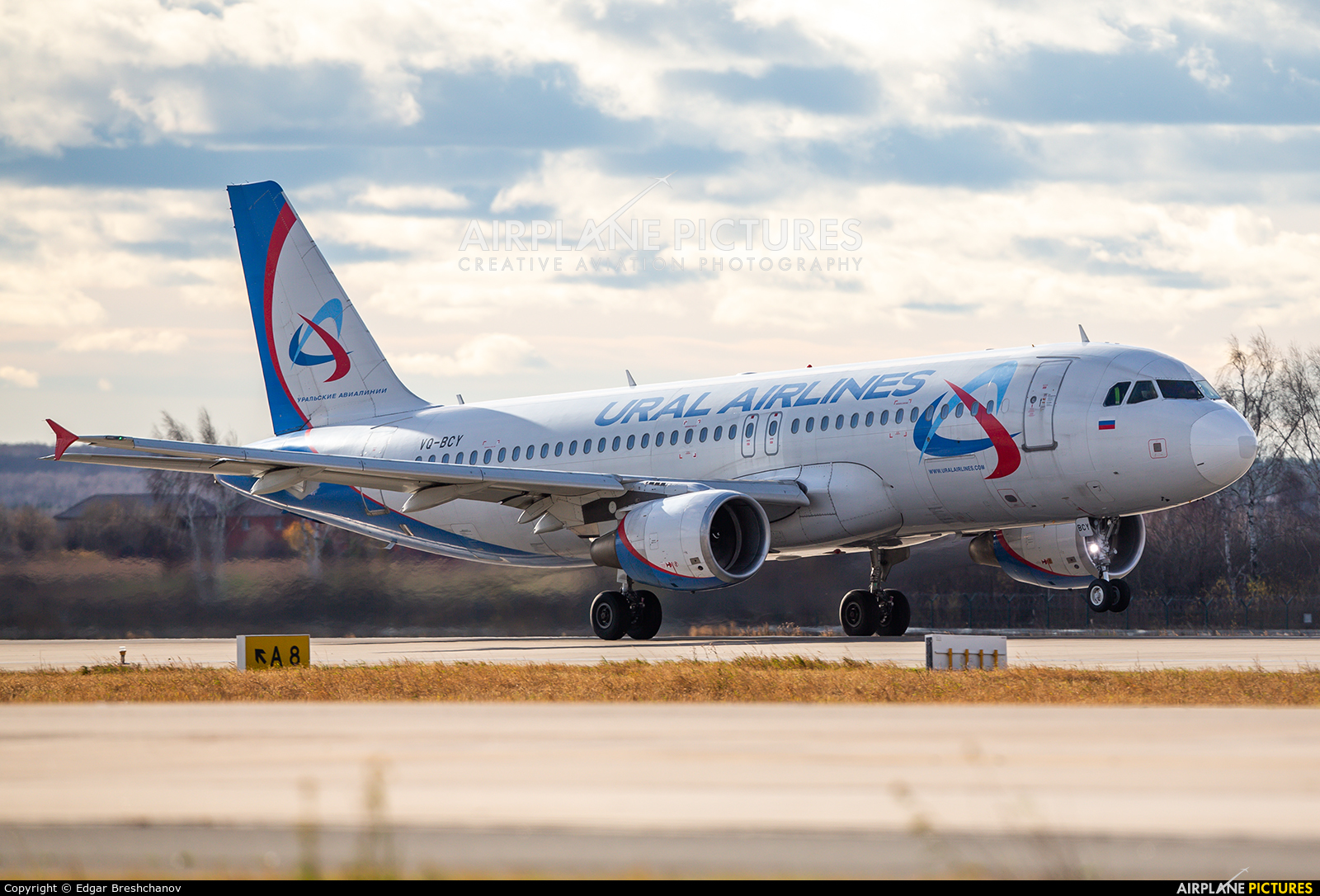 Ural Airlines VQ-BCY aircraft at Moscow - Domodedovo