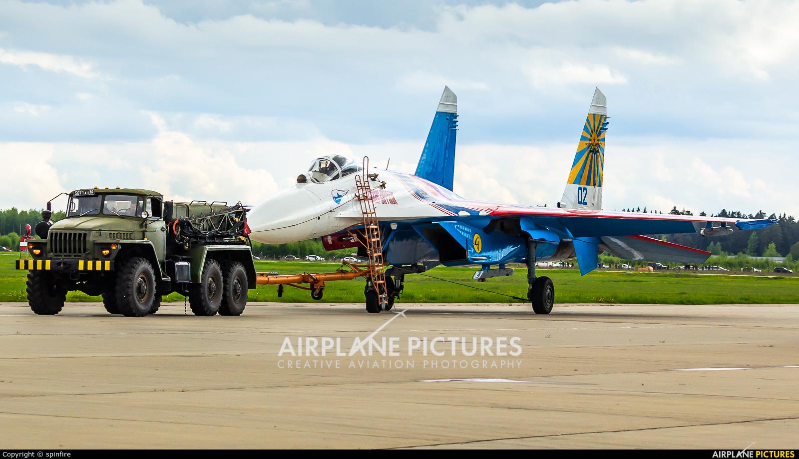 """Russia - Air Force """"Russian Knights"""" 02 aircraft at Kubinka"""