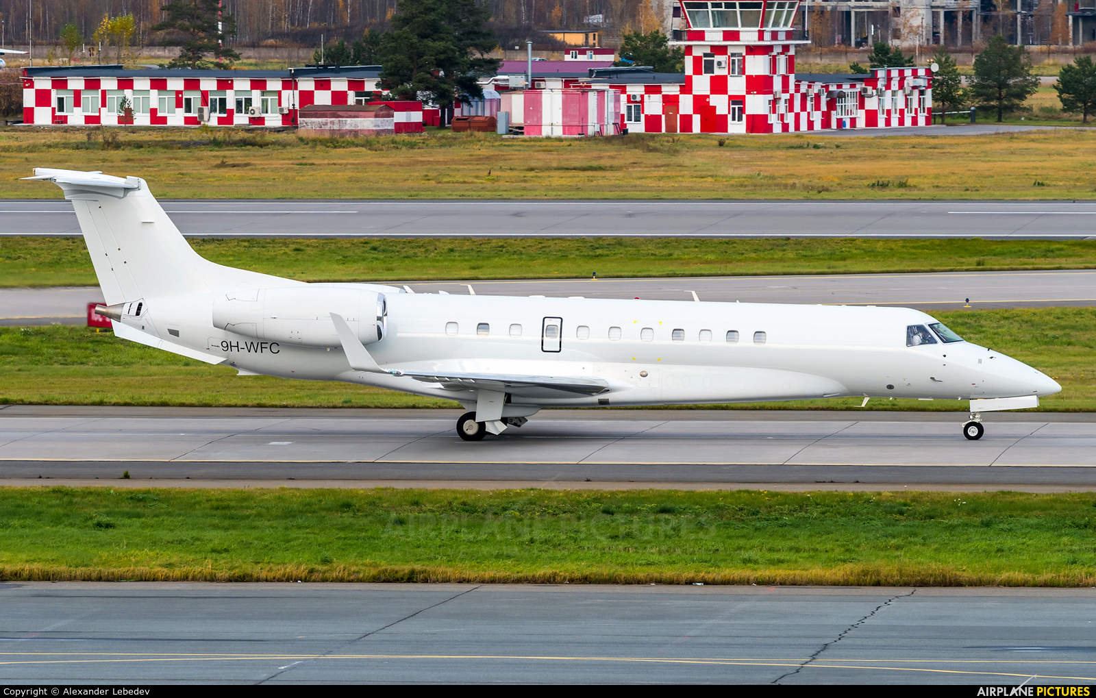 Private 9H-WFC aircraft at St. Petersburg - Pulkovo