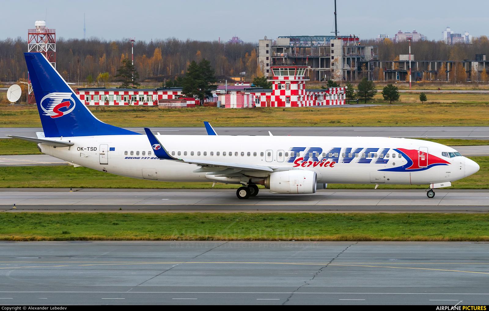 Travel Service OK-TSD aircraft at St. Petersburg - Pulkovo