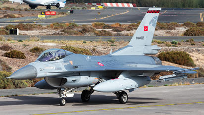 89-0025 - Turkey - Air Force General Dynamics F-16C Fighting Falcon