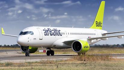 YL-AAP - Air Baltic Airbus A220-300