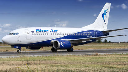 YR-AMB - Blue Air Boeing 737-500