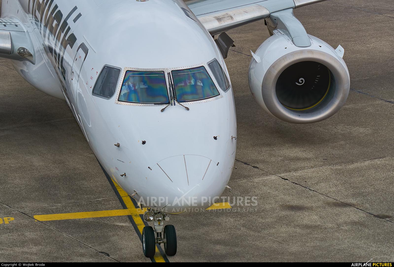 Helvetic Airways HB-JVT aircraft at Berlin - Tegel