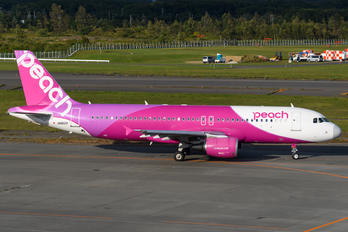 JA812P - Peach Aviation Airbus A320