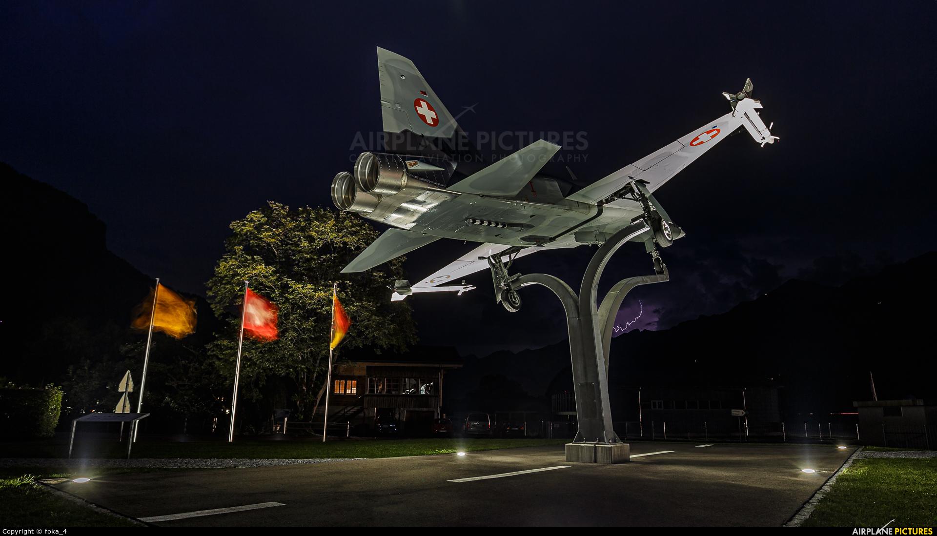 Switzerland - Air Force J-3008 aircraft at Meiringen
