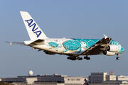 JA382A - ANA - All Nippon Airways Airbus A380 aircraft