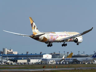 A6-BLK - Etihad Airways Boeing 787-9 Dreamliner