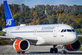 LNRGL - SAS - Scandinavian Airlines Airbus A320 NEO