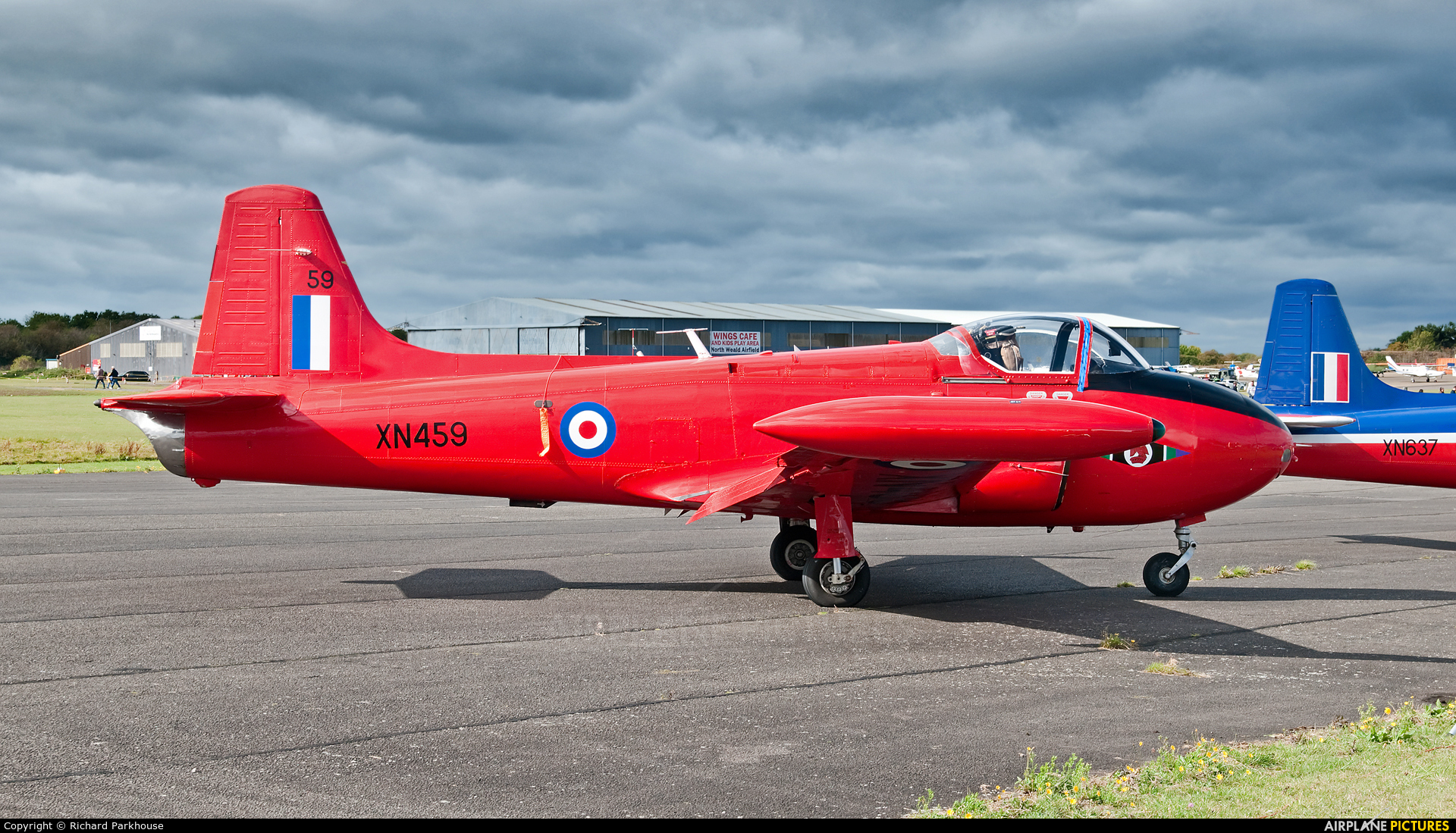 Private G-BWOT aircraft at North Weald