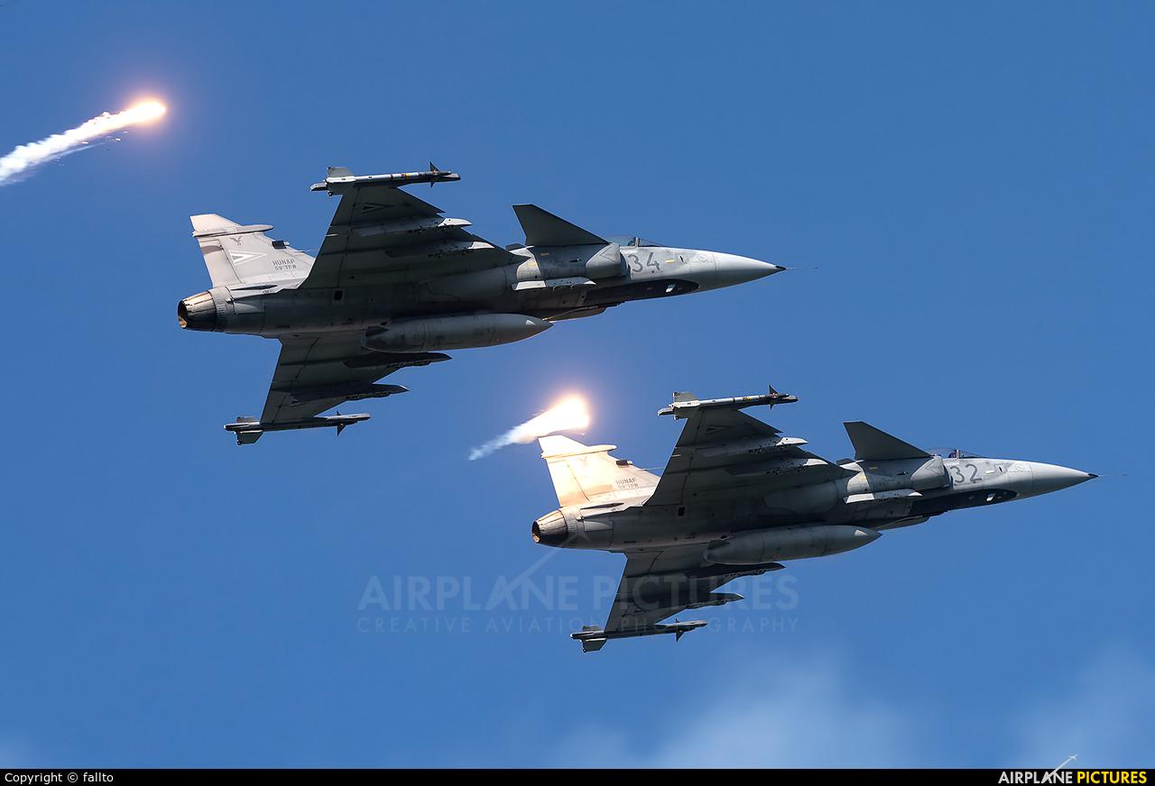Hungary - Air Force 34 aircraft at Off Airport - Hungary