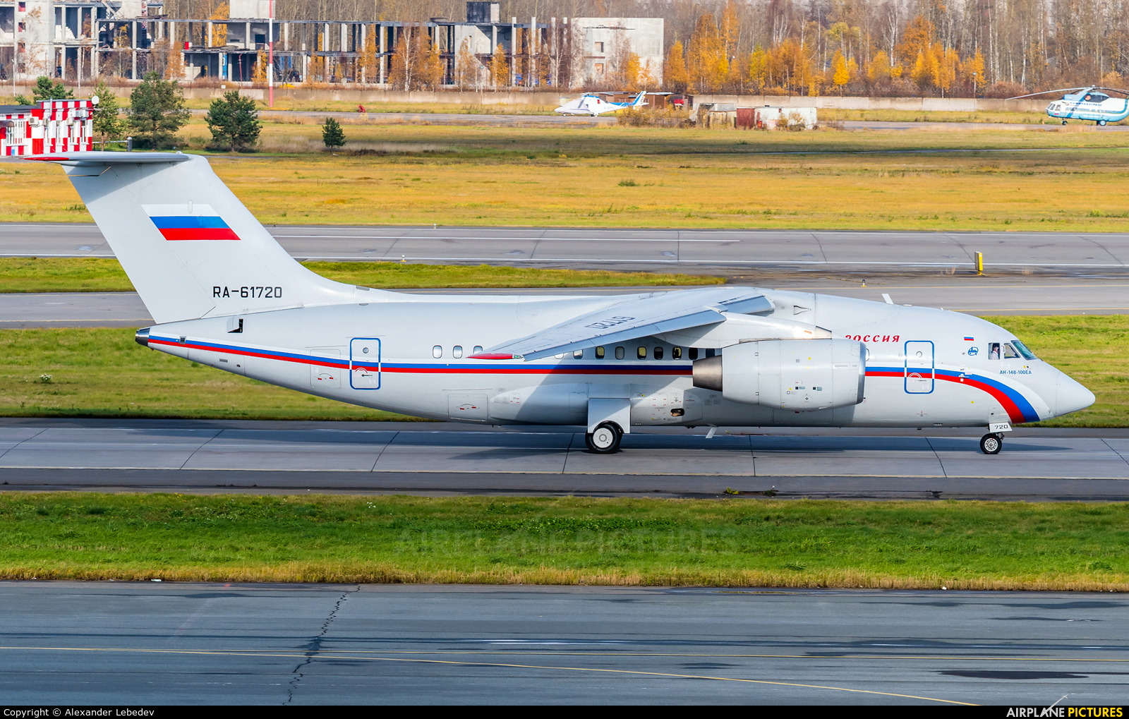 Rossiya Special Flight Detachment RA-61720 aircraft at St. Petersburg - Pulkovo