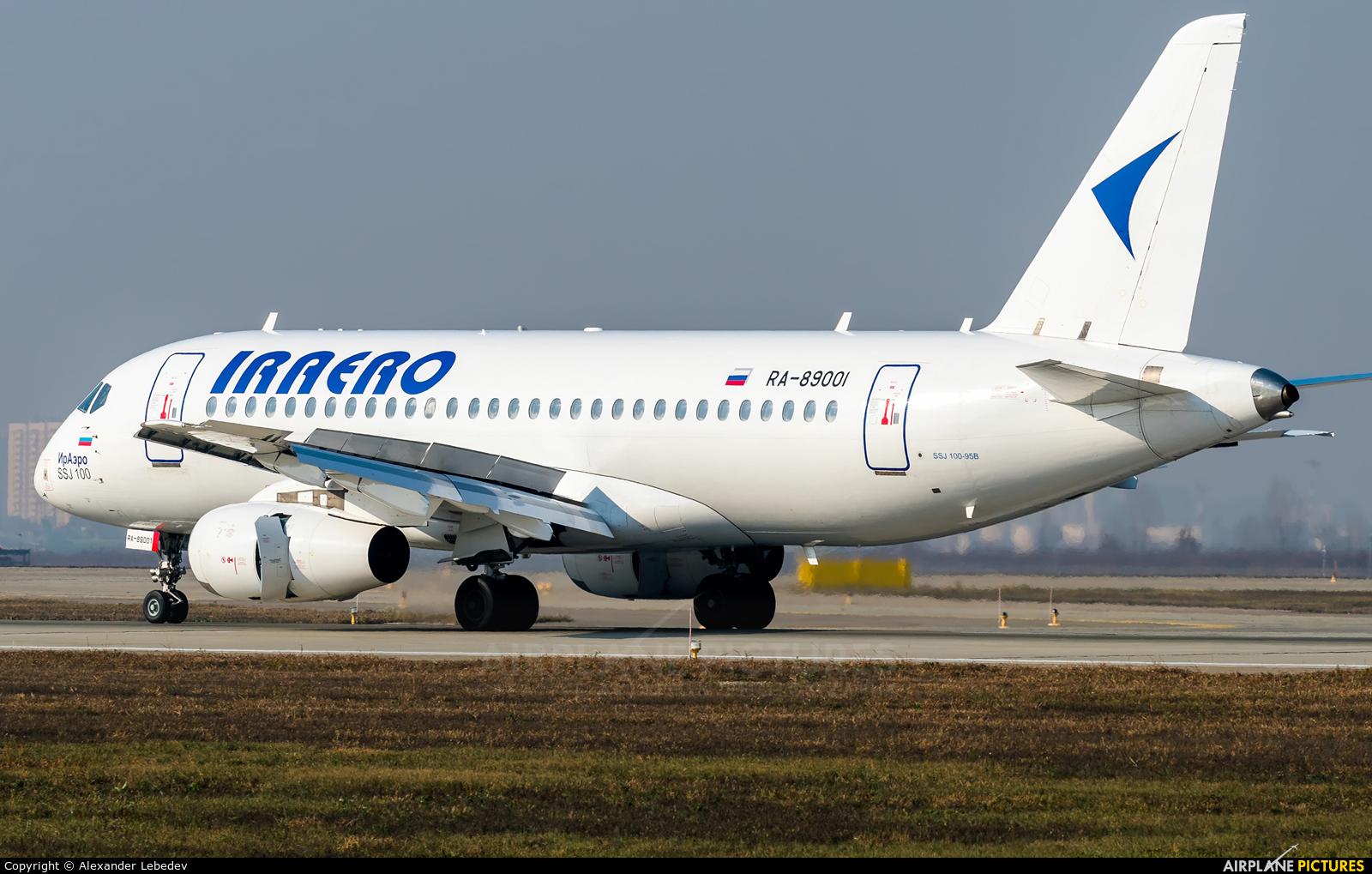 Iraero RA-89001 aircraft at Krasnodar