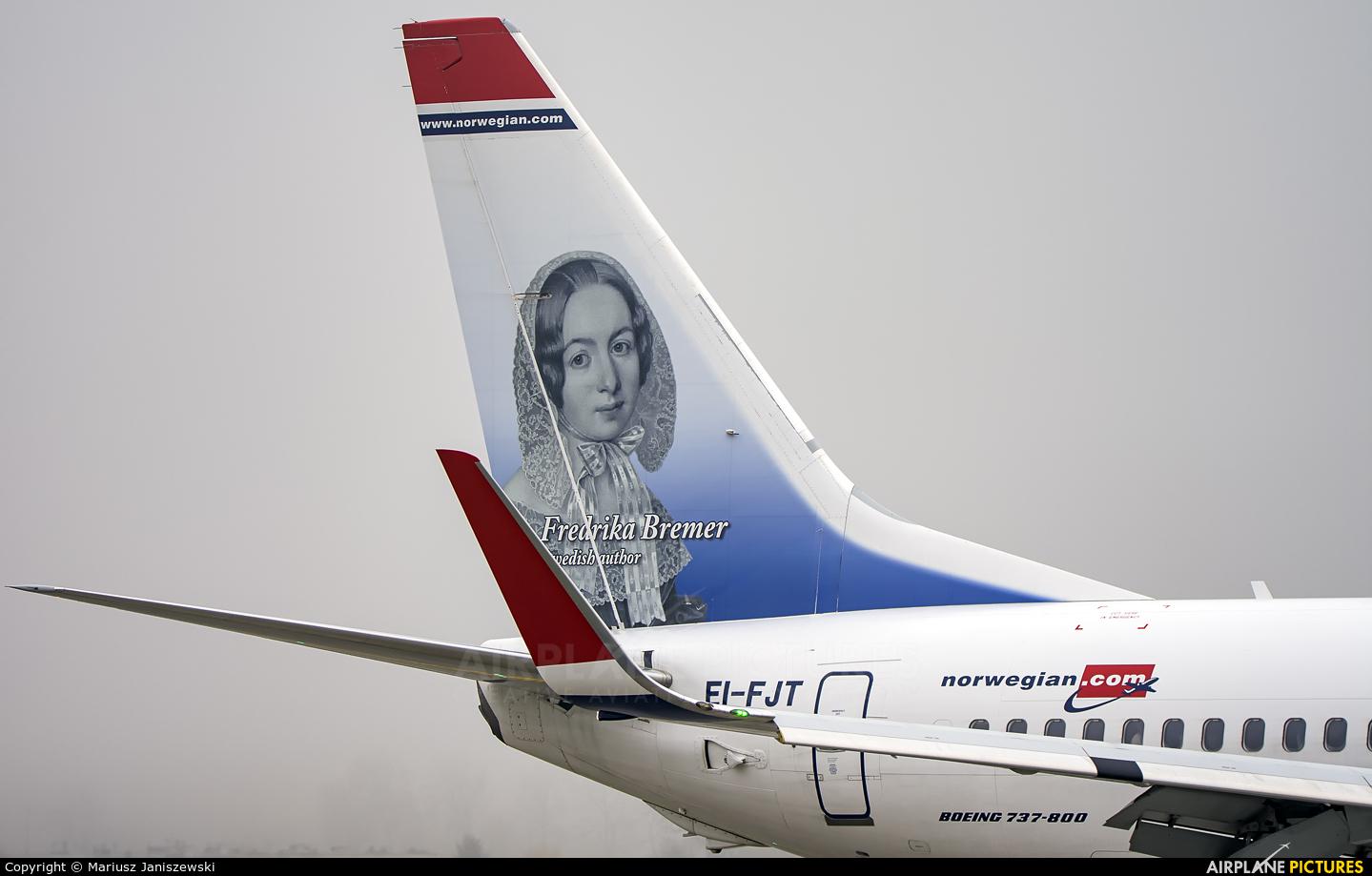 Norwegian Air International EI-FJT aircraft at Kraków - John Paul II Intl