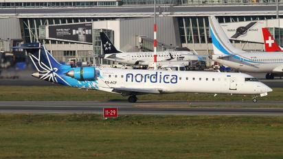 ES-ACF - Nordica Canadair CL-600 CRJ-701