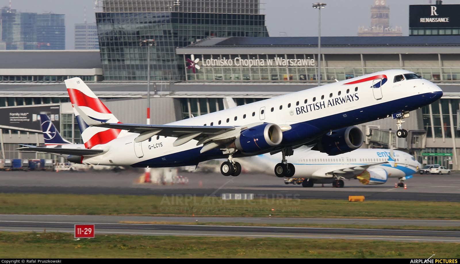 British Airways - City Flyer G-LCYS aircraft at Warsaw - Frederic Chopin