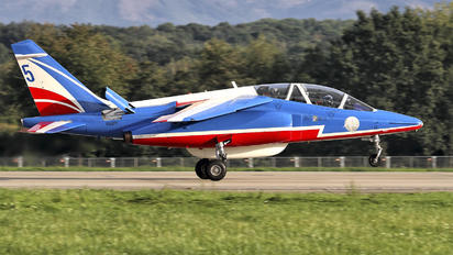 "E85 - France - Air Force ""Patrouille de France"" Dassault - Dornier Alpha Jet E"